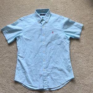 NWOT polo Ralph Lauren short sleeve button down